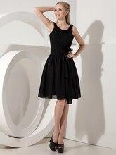 2015 schwarz Prom Dresses Short A-linie Kleine Schwarze Kleider Mit Straps Junioren Prom Party Kleider Lässig Maßgeschneiderte cd6579