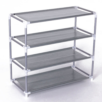 Non-woven Fabric Storage Shoe Rack Hallway Cabinet