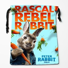 New Custom Peter Rabbit Bags Custom Storage Bags Storage Printed gift bags 27x35cm Compression Type Bags