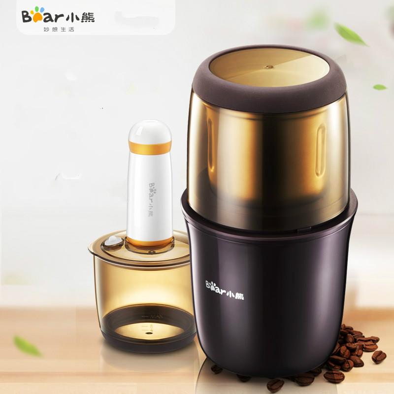 Bear Mini Multifunctional Coffee Grinder Machine 200W Electric Quick Food Grinders Coffee Maker Flour Mill Kitchen AidBear Mini Multifunctional Coffee Grinder Machine 200W Electric Quick Food Grinders Coffee Maker Flour Mill Kitchen Aid