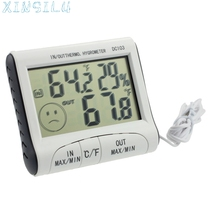 New Arrival! High Quality Home Use DC103 LCD Display Thermometer Humidity Temperature Hygrometer Meter Digital #Jan5