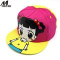 Minhui New Cute Girls Hats Kids Snapback Caps Casual Baseball Cap for Children Girl Sun Hat
