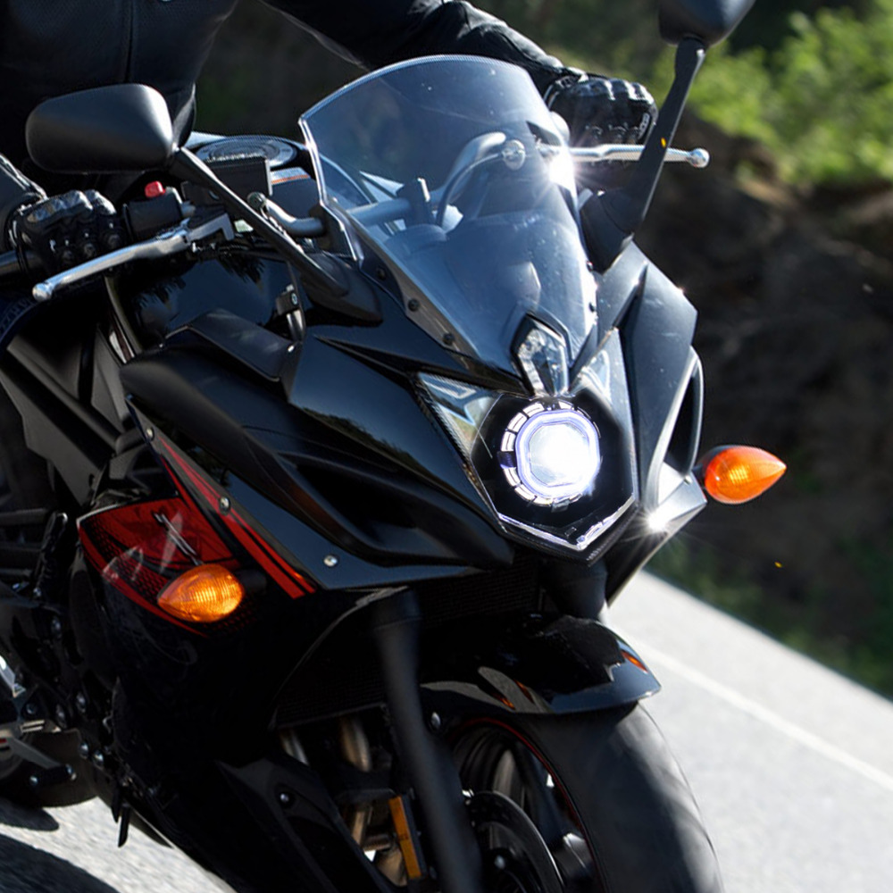 hid bi xenon motorcycle projector yamaha r1 04 wiring