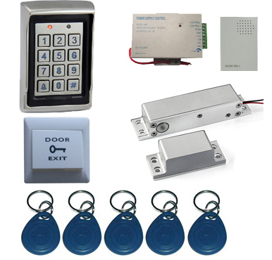 Single Door Standalone PIN and RFID Door Entry Access Control System for Office. rfid single door remote access control system