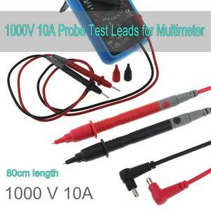 80 cm Test Leads Pin Measuring Probe Wire Pen 1000 V 10A for Multimeter Meter