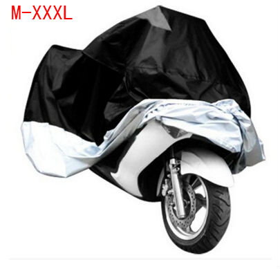 Motorcycle <font><b>Seat</b></font> M-XXXL Motorcycle Cover Waterproof Outdoor UV Protector Bike <font><b>Rain</b></font> Dustproof Covers for Motorcycle Motor Cover