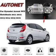 AUTONET Backup Achteruitrijcamera Voor Hyundai Accent WIT Hatchback 2011 2012 2013 2014 2015 2016 Nachtzicht/licentie plaat camera