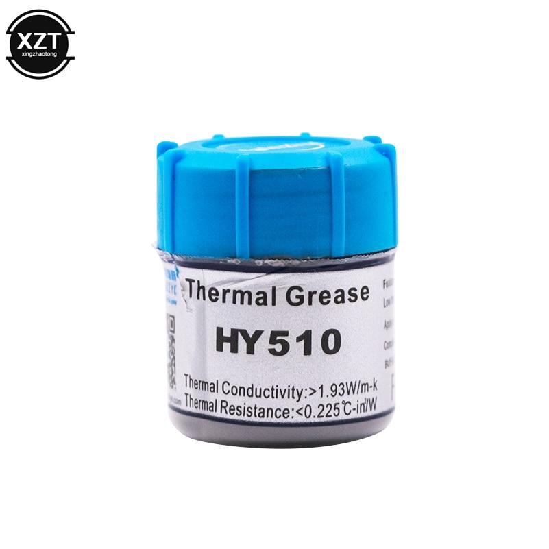 HY510 25 г Серый силиконовое соединение термопасты проводящий смазочный радиатор для процессора GPU чипсет ноутбук охлаждения с скребком