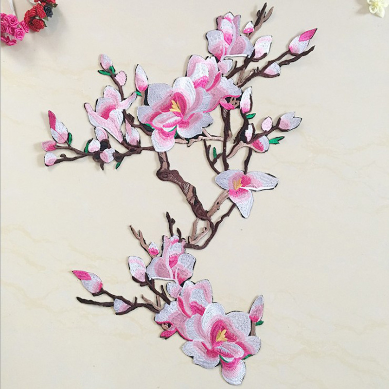 EMBROIDERED FLOWER APPLIQUE  2947-I