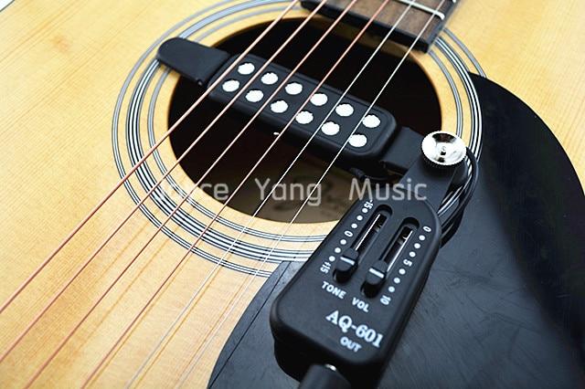 buy qh aq 601 acoustic guitar pick up wire amplifier speaker volume tone. Black Bedroom Furniture Sets. Home Design Ideas