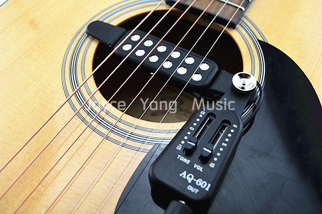 QH AQ 601 Akustische Gitarre abholen Draht Verstärker Lautsprecher + ...