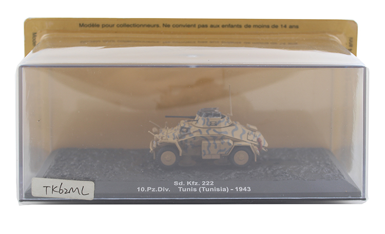 IXO 1/72 Sd. K fz.222 Ger man armored vehicle model Alloy collection model Holiday gift ixo 1 43 model of heavy duty wheeled armored vehicle in czechoslovakia sd kfz 234 2 alloy model collection model holiday gift