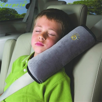 Droshipping  28x9x12cm  Baby Children Safety Strap Micro-suede Fabric Car Seat Belts Pillow Shoulder Protection C0.18ar-Styling