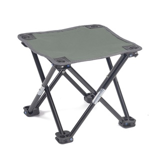Image 3 - Folding Chair Camping Equipment Ultralight Fishing Stool Portable Mountaineering Hike Chair Outdoor Mini Barbecue Beach Chair
