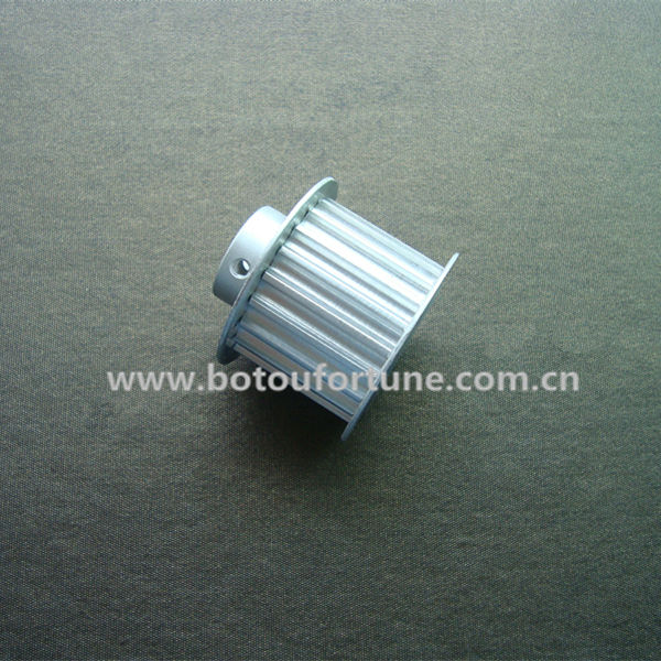 Open  timing belt HTD5M 20mm width and40-HTD5M timing pulley customized manufacture htd5m alloy belt pulley