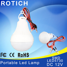High Power 12V Led Bulb SMD 5730 Portable Lamp Outdoor Camp Tent Night Fishing Hanging Light lamparas 3W 5W 7W 9W 12W