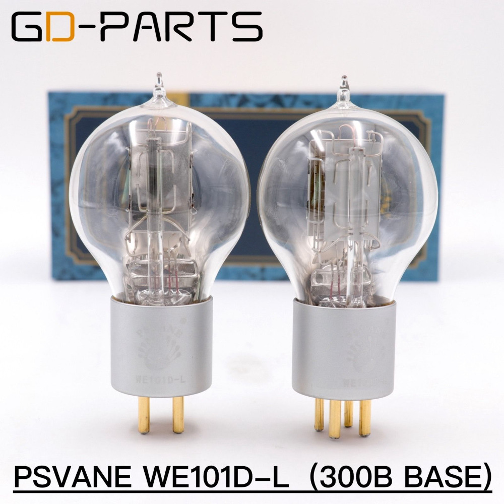 GD-PARTS New PSVANE Premium WE101D-L WE101D Vacuum Tube 1:1 Replica Western Electric 101D Hifi Vintage AMP DIY Matched Pair