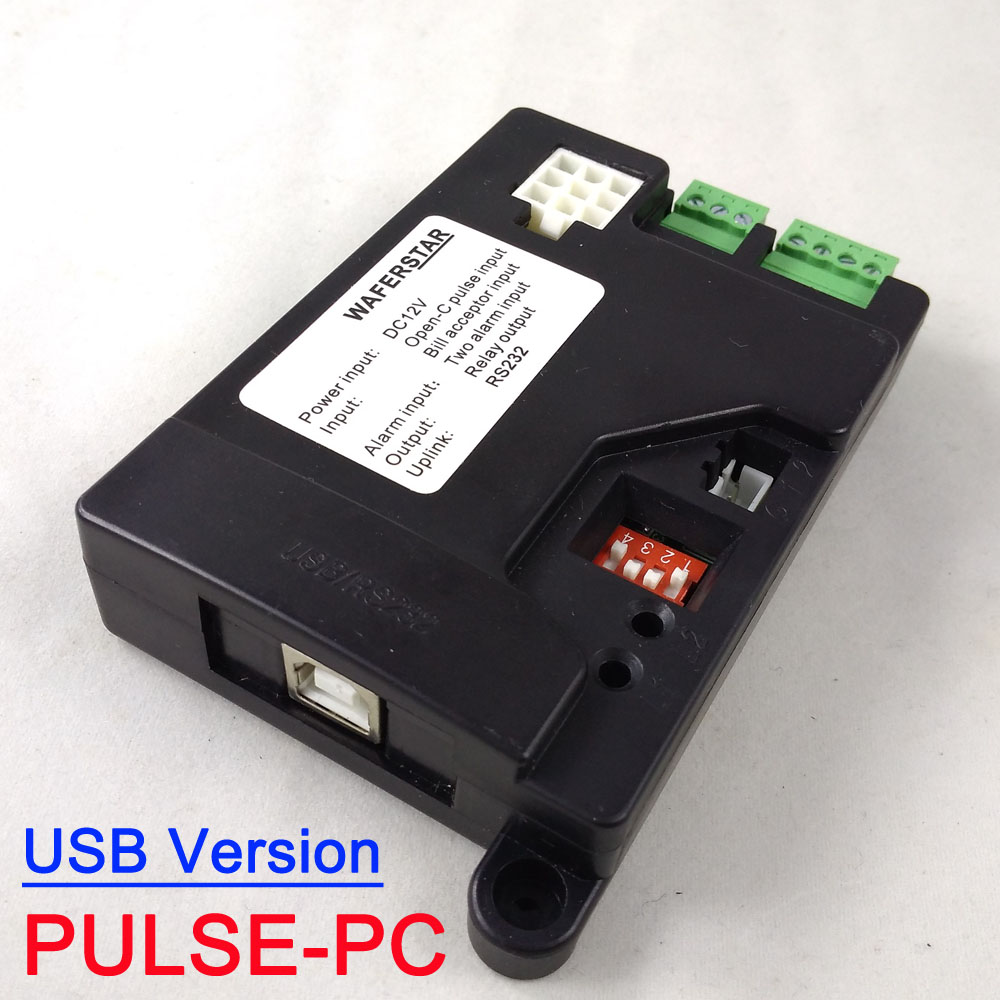 USB Version Pulse type Coin acceptor ICT Pulse Bill acceptor to PC interface PULSE-PC for kiosk machine, vending machine каталог karflorens