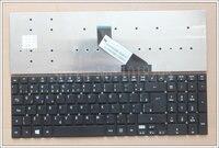 Brสีดำสำหรับacer aspire e15 e1-510p e1-522g 5755 5755กรัม5830 5830กรัม5830ครั้ง5830ครั้งe1-530g e1-532g e1-532pบราซิลแล็ปท็อปแป้นพิมพ