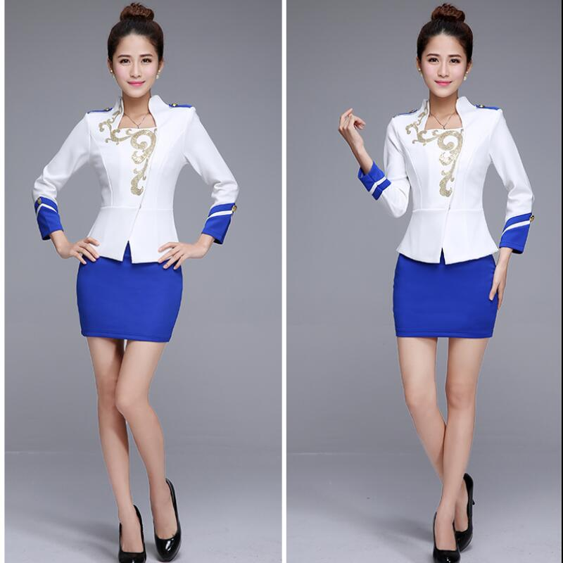 2015 new formal office uniform design women business suits for Office uniform design 2015