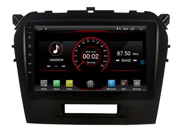 Deluxe Edition Auto Android 9.0 Player für Suzuki Grand Vitara stereo Auto Tabletten 4G Lite sim karte Bluetooth GPS Radio kopf Einheit