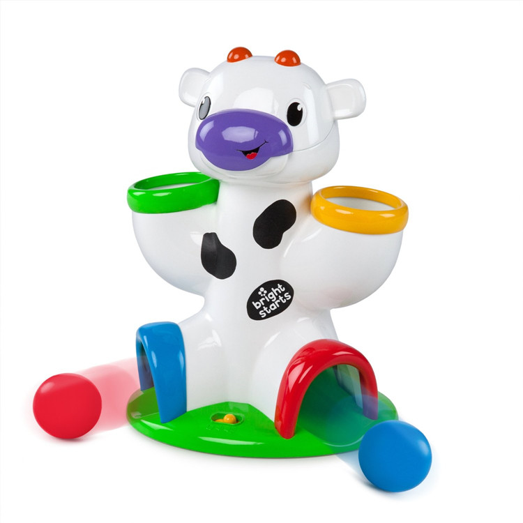 ball drop toy. aliexpress.com : buy cartoon fun bright having a ball drop \u0026 giggle cow baby educational toy 15 kinds of interesting sounds kids best christmas gift from l