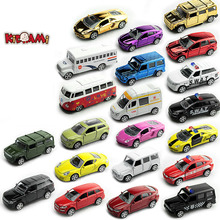 KIDAMI 1:64 Pull Back Toy Car Set Alloy Diecast Metal Vehicle Mini Sliding Car Model Kids Little Car Toys For Children Boy Gift 6pcs lot multicolor plastic cartoon mini pull back boy car model toys set educational toy for children car toys