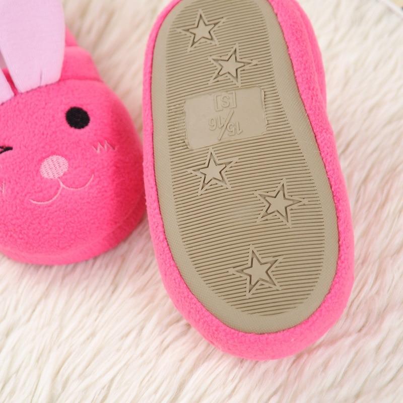 kidadndy Vaikiškos slidžios grindys mergaičių šlepetės Cartoon - Vaikiški batai - Nuotrauka 5
