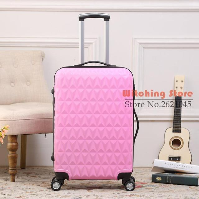 24 INCH  202428# r ice cream top travel box 20 24 28 ABS luggage #EC FREE SHIPPING