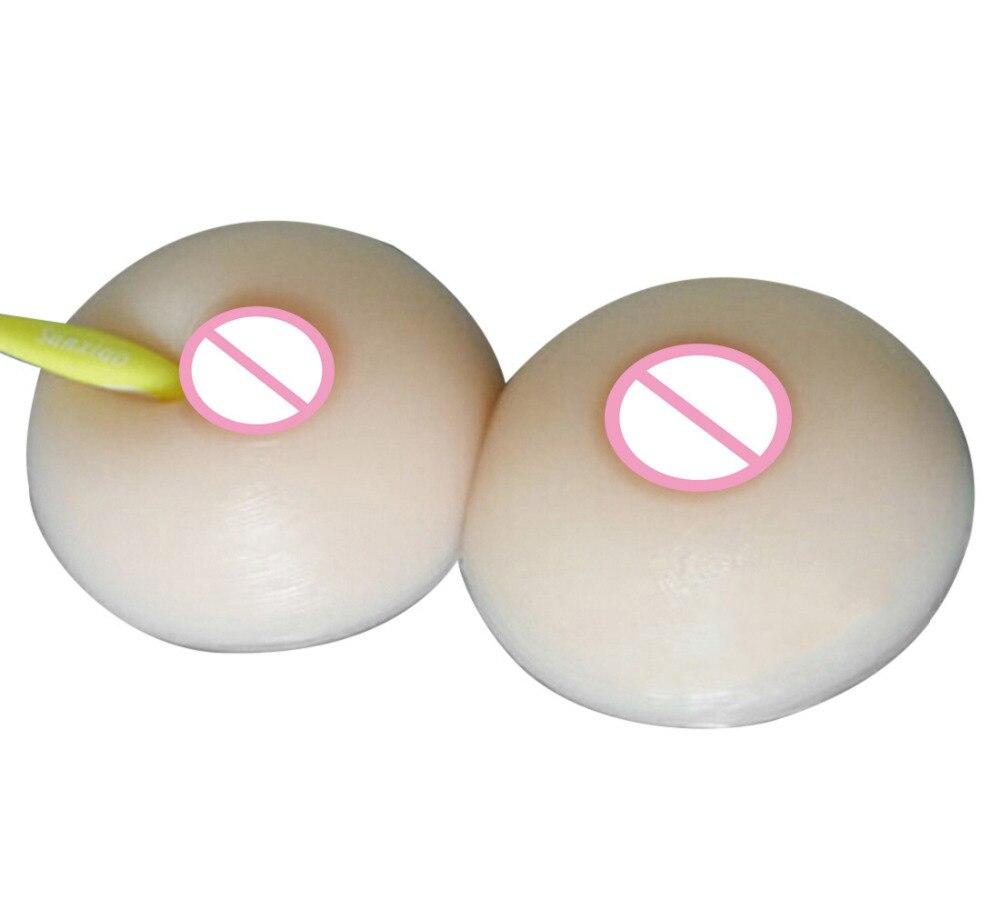 600g Fake Boob Silikon Bryst for Crossdresser Drag Queen Bryst Former - Helsevesen - Bilde 3