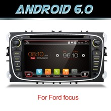 "7 ""Android 5.1 автомобиль Радио DVD для Ford/Focus/S-MAX/Mondeo/C-MAX/Galaxy 4 ядра wi-Fi GPS навигации головного устройства Аудио FM USB dab +"