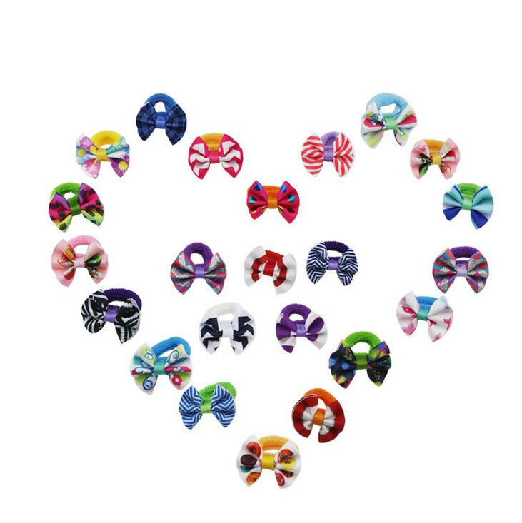 200pcs DHL Free shipping  High Elastic Stretch Hair Bands Hair Ties Rope Ponytail Holders Headband Scrunchie Hair Accessories