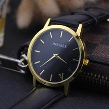 Simplicity Classic Women Watch Famous 2016 Luxury Brand Leather Band Wrist Men Quartz Watches Relogio Masculino Wristwatch