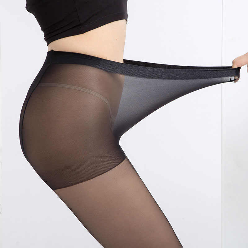 5c8fc475611 ... LNRRABC Ultrathin Thin Summer Pantyhose Fish Mouth Plus Size Stockings  Breathable Sexy Women Fashion Hosiery ...