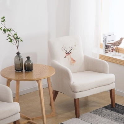 Creative Lazy Single Sofa Chair Balcony Small Mini Modern Minimalist Bedroom Apartment Leisure Computer In Living Room Chairs From