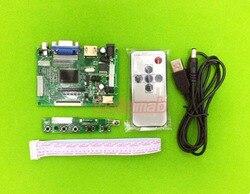 Ekran wyświetlacza LCD AT090TN10 AT090TN12 HE070NA-13B płyta sterownicza kontroler LVDS TTL hdmi vga dla Raspberry Pi