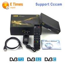 [Auténtica] SÁB LIBRE V8 de Oro TV Vía Satélite Receptor DVB-S2 + T2/C Combo HD Decodificador Digital soporte CCCAM NEWCAM Powervu Set-Top box