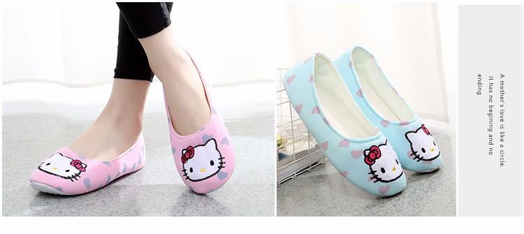Mugavad Hello Kitty sussid naistele