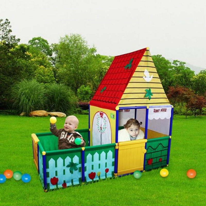 Outdoor Play Toys : New children kid toy tent and swimming pool game play