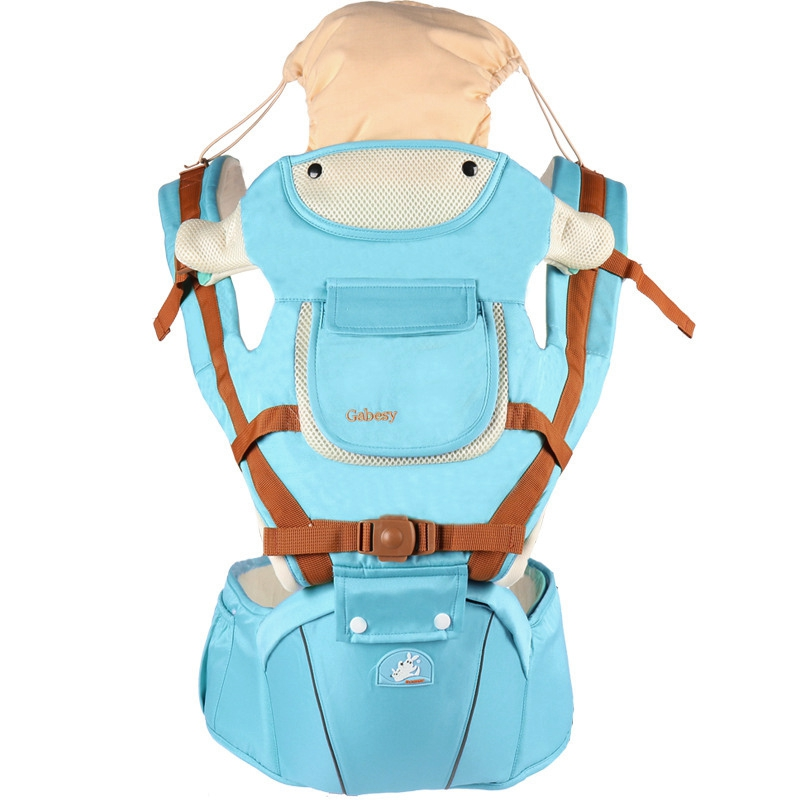 Gabesy Comfortable Multifunctional Baby Carrier Stool Carry Backpack Sling Strap Pouch Wrap Backpack Suspender For Baby Carrier multi function portable comfortable cotton baby carrier sling bag deep blue white
