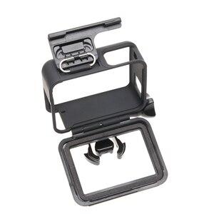 Image 4 - Black Housing Frame Backdoor Clip Lock Buckle Replacement Backdoor Frame for GoPro Hero 5 6 7 camera Accessories