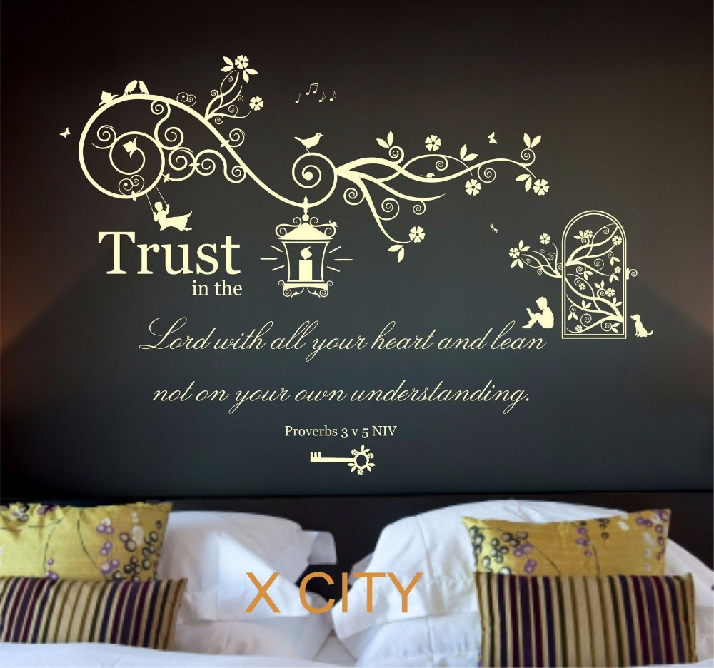 Christian Wall Art popular wall art stickers christian-buy cheap wall art stickers
