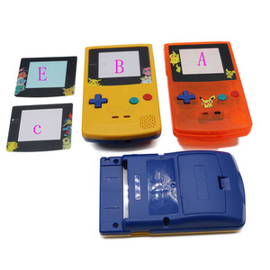 Image 4 - For GameBoy Color  Limitd Edition Clear Orange Yellow Replacement Housing Shell For GBC Housing Case Pack
