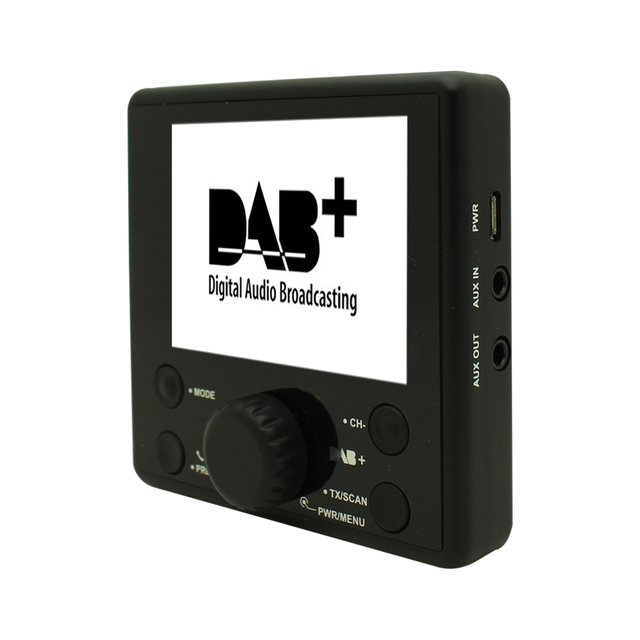 auto dab radio adapter universal auto dab radio ontvanger bluetooth fm zender 3 tft display. Black Bedroom Furniture Sets. Home Design Ideas