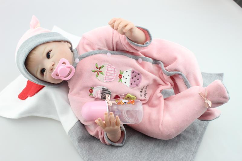 22 55cm silicone reborn baby dolls for sale Real Looking newborn baby real alive bonecas best birthday gift for baby girls22 55cm silicone reborn baby dolls for sale Real Looking newborn baby real alive bonecas best birthday gift for baby girls