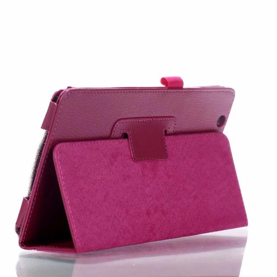 Case For Huawei Mediapad M3 BTV-W09 BTV-DL09 8.4 Inch Tablet Ultra Slim Litchi 2-Folder Folio PU Leather Stand Smart Cover + Pen