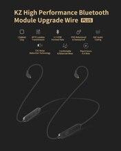 цена на KZ Waterproof Aptx Bluetooth adapter Wireless Upgrade Module Cable Detachable Cord Applies Original Headphones ZS10AS10ZSTZS6