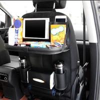 Food Storage Bags Multifunctional Auto Car Back Seat Organizer Hanging Bag Cup Holder Multi Pocket Travel
