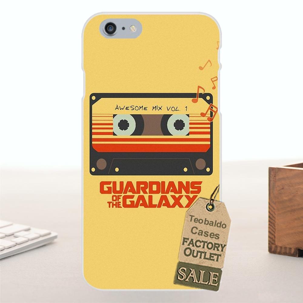 Tpwxnx Awesome Mix Vol 1 Soft TPU Coque For Apple iPhone 4 4S 5 5C SE