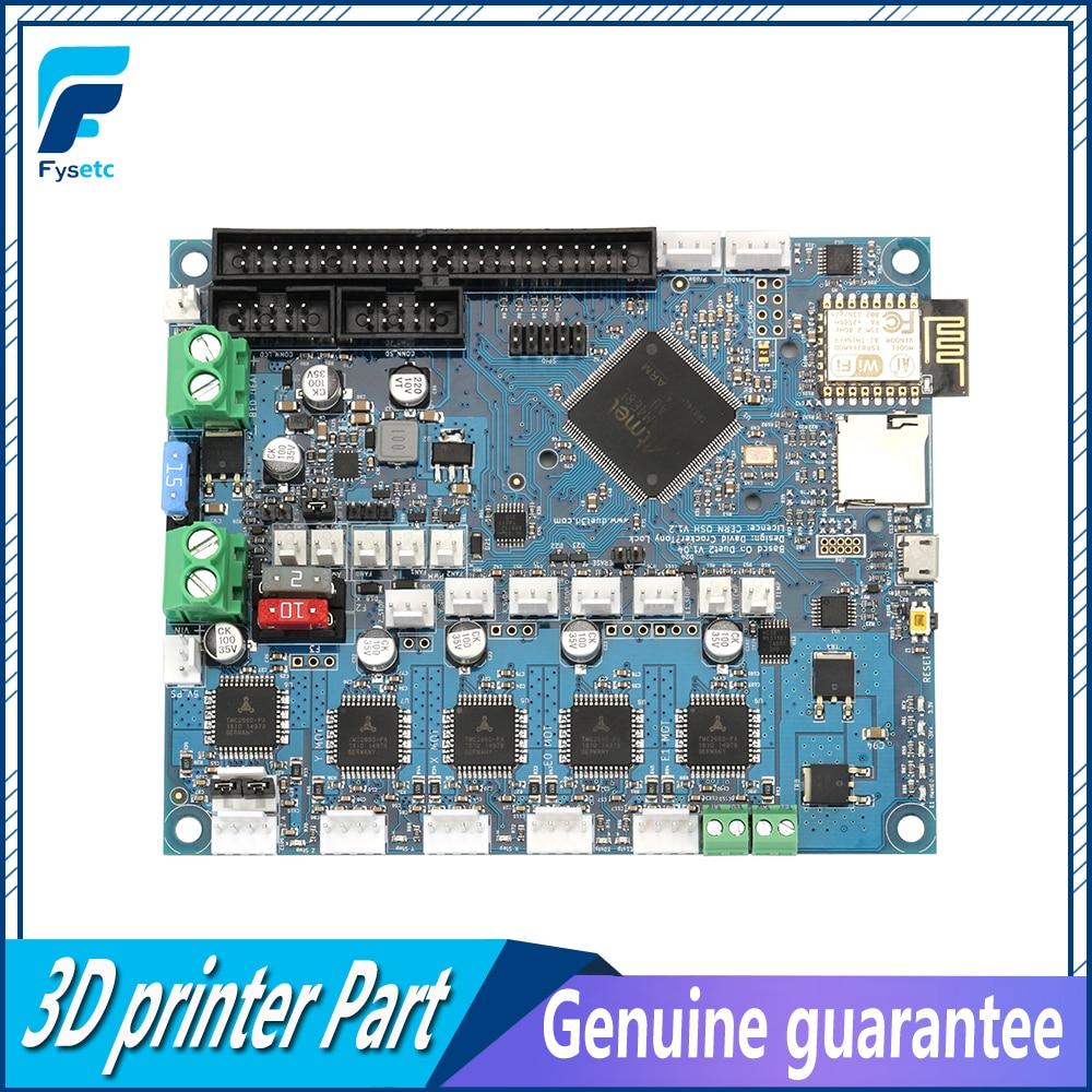 Клонировано duetwifi последняя версия дуэт 2 Wi-Fi V1.04 обновления плате контроллера 32bit материнская плата для 3D-принтеры и станках с ЧПУ